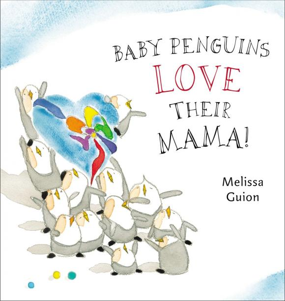 Baby Penguins Love their Mama сандалии piazza italia piazza italia pi022awqjo50