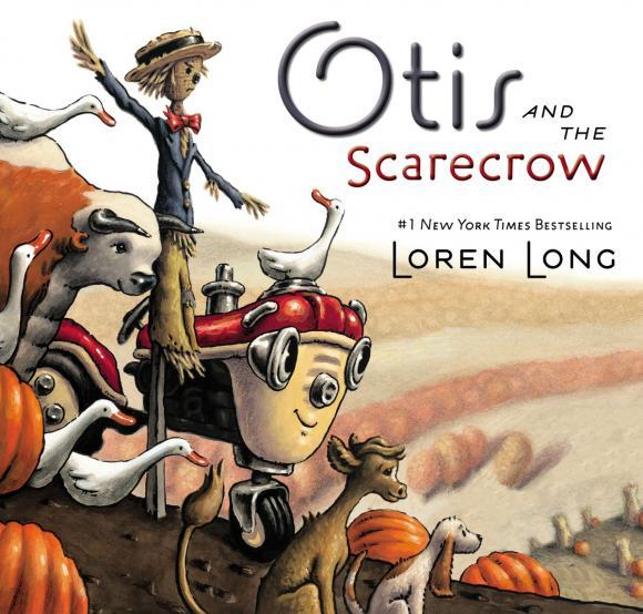 Otis and the Scarecrow the scarecrow