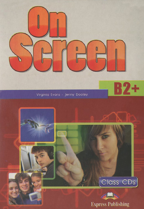 On Screen Level B2+ аудиокурс на 4 CD