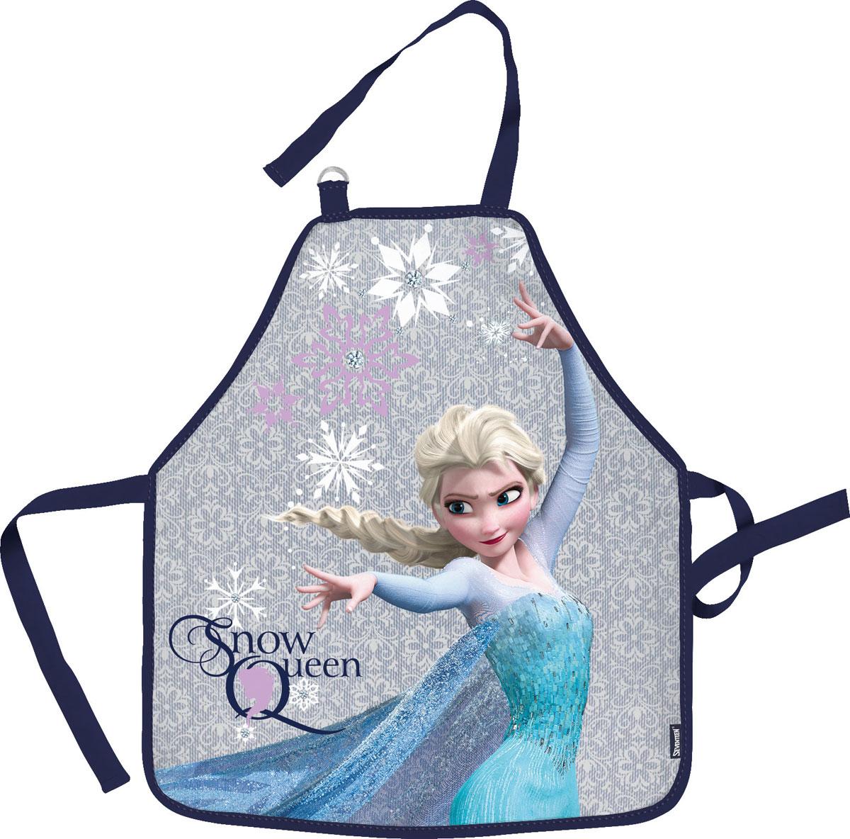 Фартук для детского творчества  Frozen , цвет: светло-серый. FZCB-UT1-029M -  Аксессуары для труда