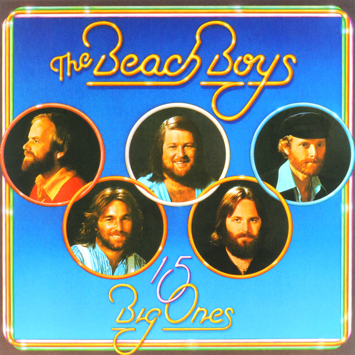 The Beach Boys The Beach Boys. 15 Big Ones (LP) plunge woven sleeveless side split beach dress
