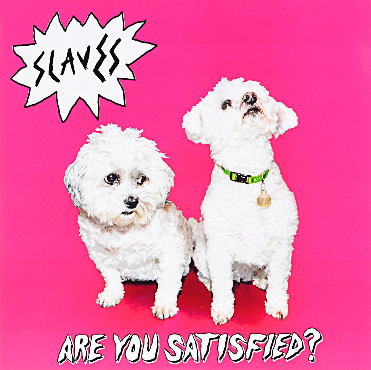 Slaves Slaves. Are You Satisfied? (LP) slaves uk manchester