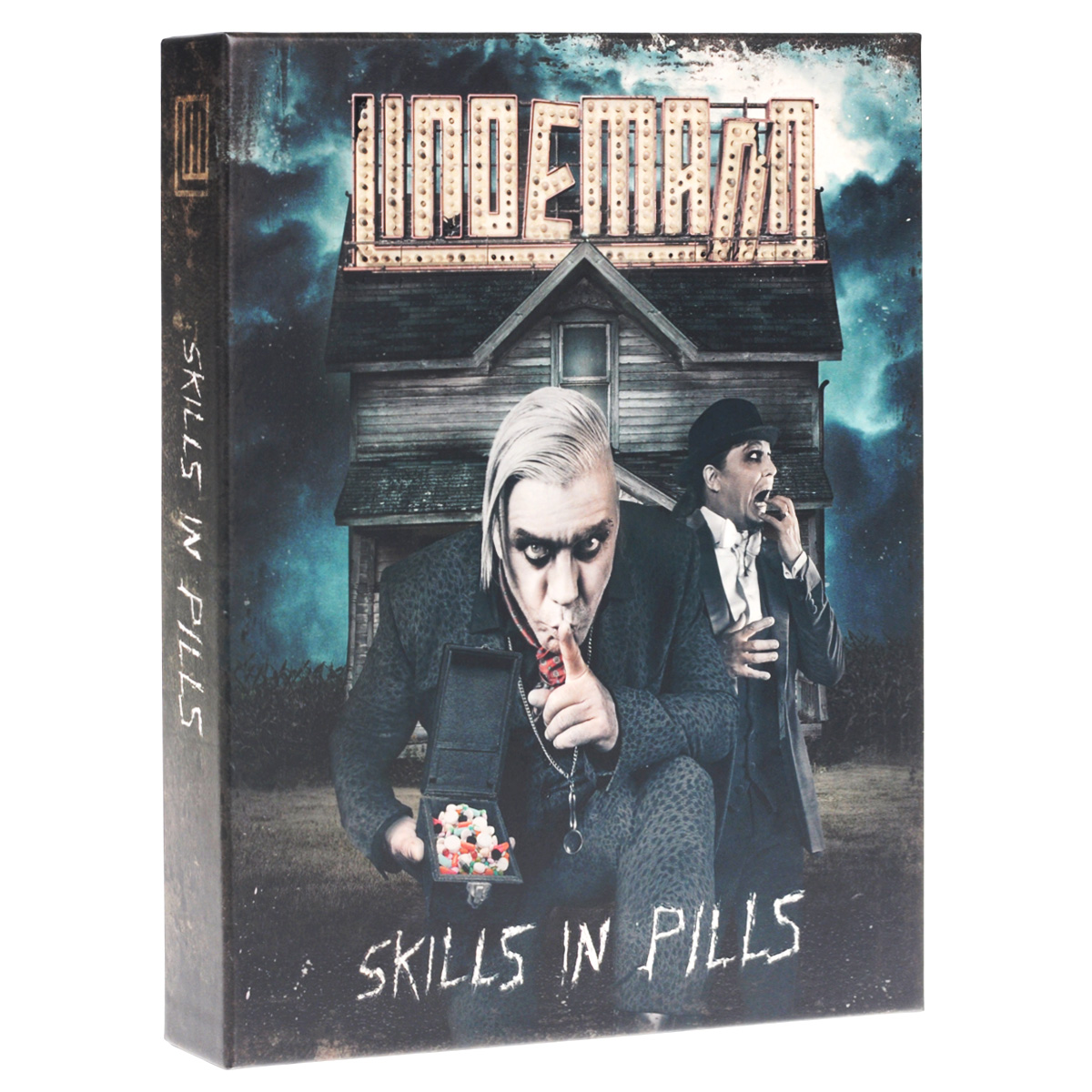 Тилл Линдеманн Lindemann. Skills In Pills. Super Deluxe Version children of bodom children of bodom i worship chaos