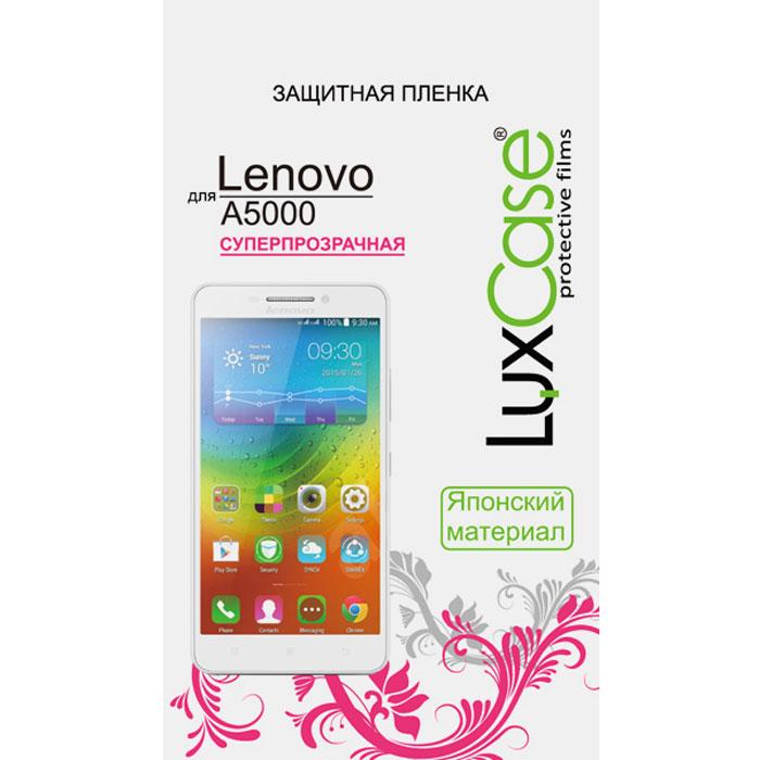 Luxcase защитная пленка для Lenovo A5000, суперпрозрачная51053Защитная суперпрозрачная пленка Luxcase для Lenovo A5000 сохраняет экран смартфона гладким и предотвращает появление на нем царапин и потертостей. Структура пленки позволяет ей плотно удерживаться без помощи клеевых составов и выравнивать поверхность при небольших механических воздействиях. Пленка практически незаметна на экране смартфона и сохраняет все характеристики цветопередачи и чувствительности сенсора