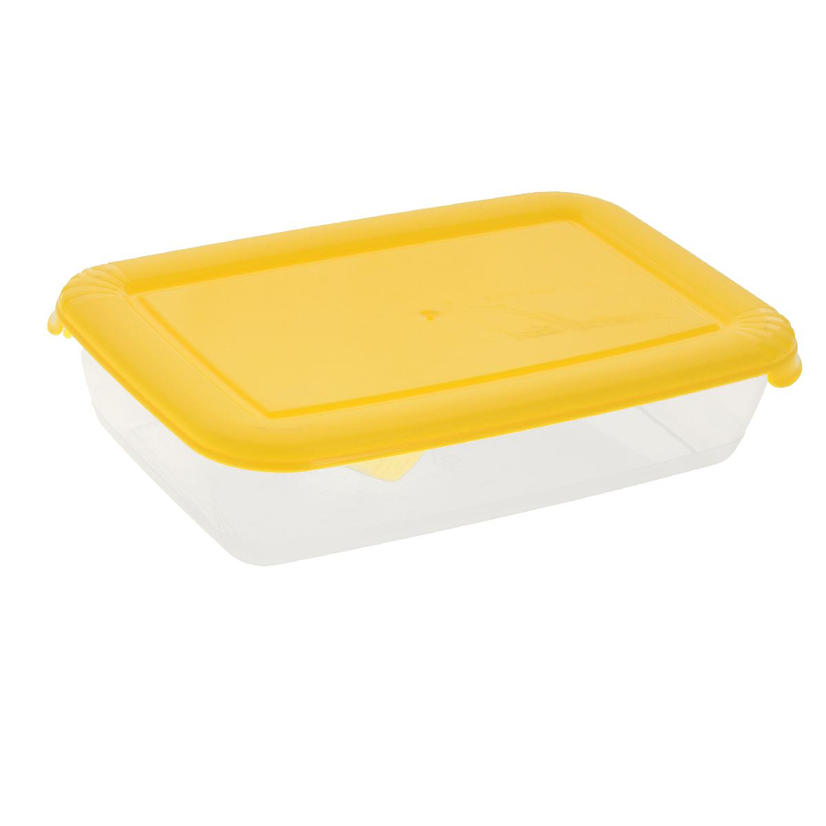 Контейнер для СВЧ Полимербыт Лайт, цвет: желтый, 0,45 лС551Квадратный контейнер для СВЧ Полимербыт Лайт изготовлен из высококачественного прочного пластика, устойчивого к высоким температурам (до +120°С). Крышка плотно и герметично закрывается, дольше сохраняя продукты свежими и вкусными. Контейнер идеально подходит для хранения пищи, его удобно брать с собой на работу, учебу, пикник или просто использовать для хранения продуктов в холодильнике. Подходит для разогрева пищи в микроволновой печи и для заморозки в морозильной камере (при минимальной температуре -40°С). Можно мыть в посудомоечной машине.