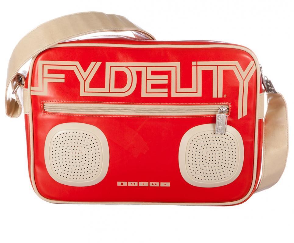 Сумка FYDELITY G-FORCE Shoulder Bag, 7л, цвет: красный92482Состав материала: искусст. кожа., пластик Как выбрать портативную колонку. Статья OZON Гид
