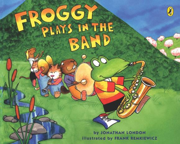 Froggy Plays in the Band plays