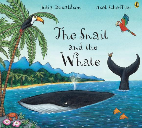 The Snail and the Whale big blue whale