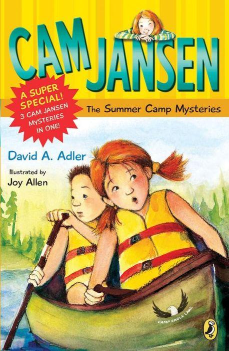 Cam Jansen: Cam Jansen and the Summer Camp Mysteries термометр and dt 623