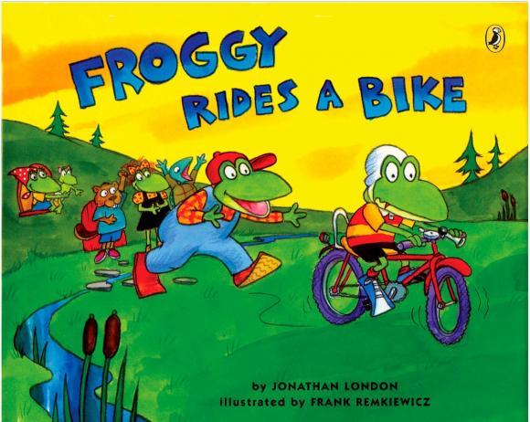 цена на Froggy Rides a Bike