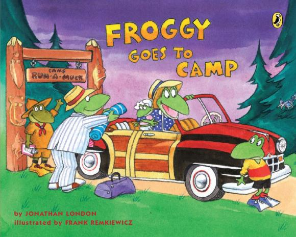 Froggy Goes to Camp jonathan london froggy goes to bed
