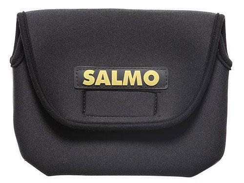 Чехол для катушек Salmo, цвет: черный, 23 см х 14 см экстрактор рыболовный salmo 23 см с пружиной 9606 009