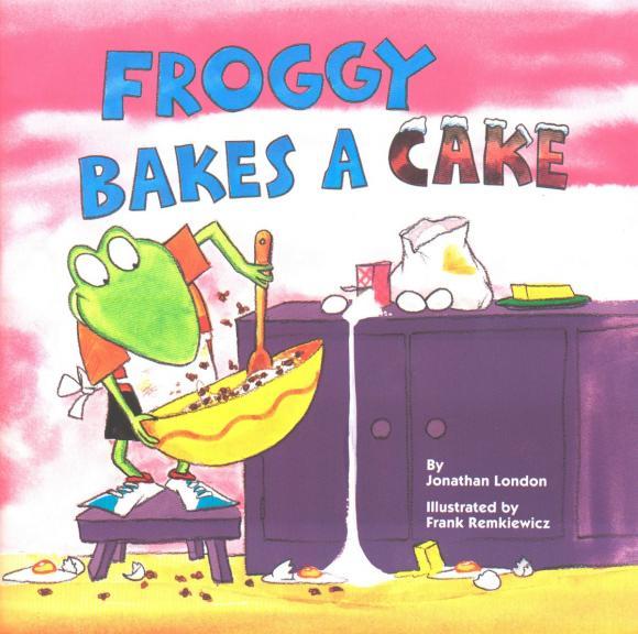 цена на Froggy Bakes a Cake