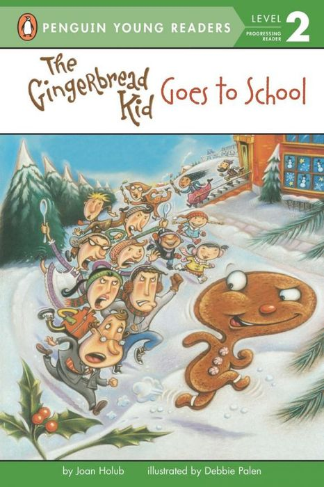 The Gingerbread Kid Goes to School lucky goes to school