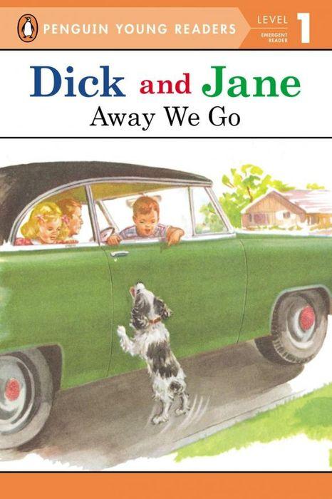 Dick And Jane: Away We Go: Level 1 lumy блокнот anytime we go away