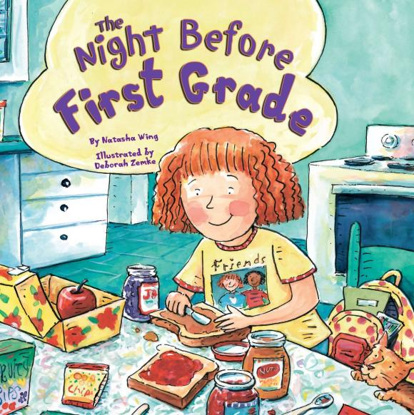 The Night Before First Grade the night before kindergarten