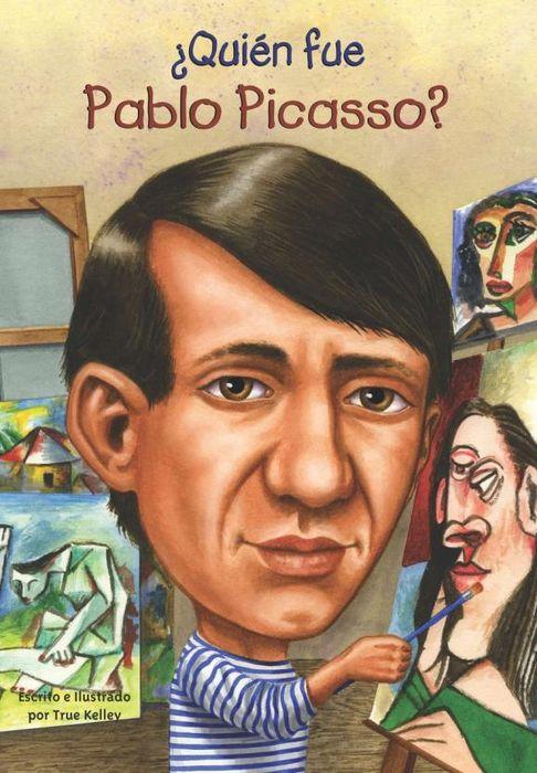 Quien fue Pablo Picasso? janet pascal quien fue abraham lincoln