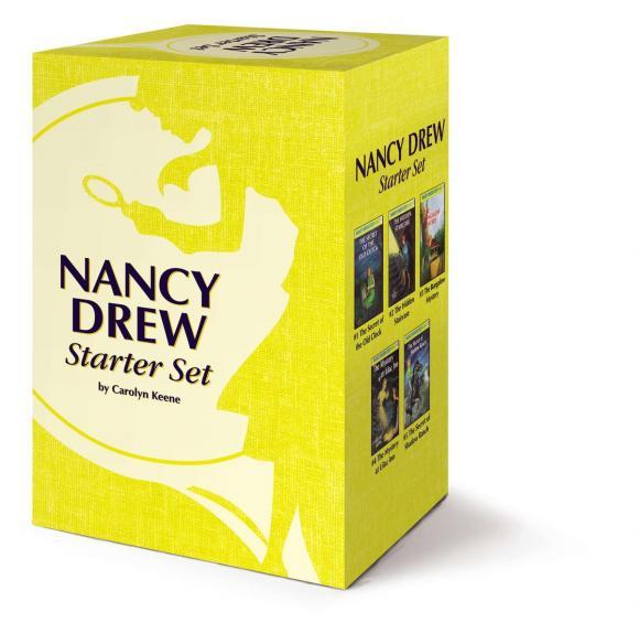 Nancy Drew Starter Set nancy кукла нэнси в малиновой юбке плетение косичек nancy