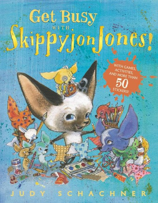 Get Busy with Skippyjon Jones! my first playtime let s get busy