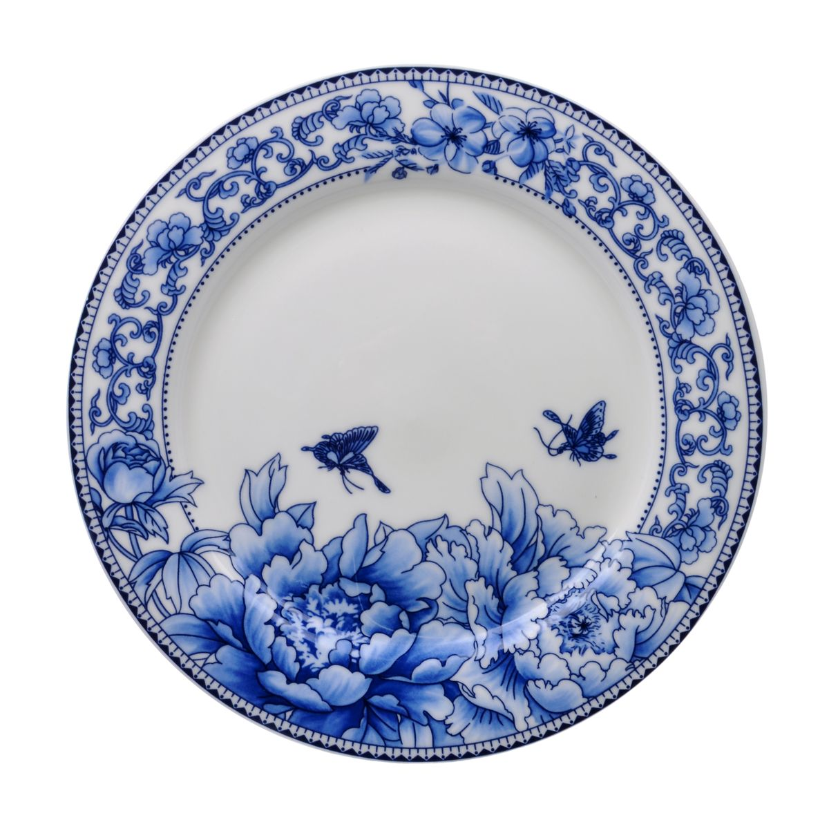 Тарелка для горячего Nanshan Porcelain Наньшань, диаметр 22,5GNNSNN008Тарелка для горячего Nanshan Porcelain Наньшань изготовлена из высококачественной керамики. Предназначена для красивой подачи различных блюд. Изделие декорировано ярким цветочным принтом. Такая тарелка украсит сервировку стола и подчеркнет прекрасный вкус хозяйки.Можно мыть в посудомоечной машине и использовать в СВЧ. Диаметр: 22,5 см.Высота: 2 см.