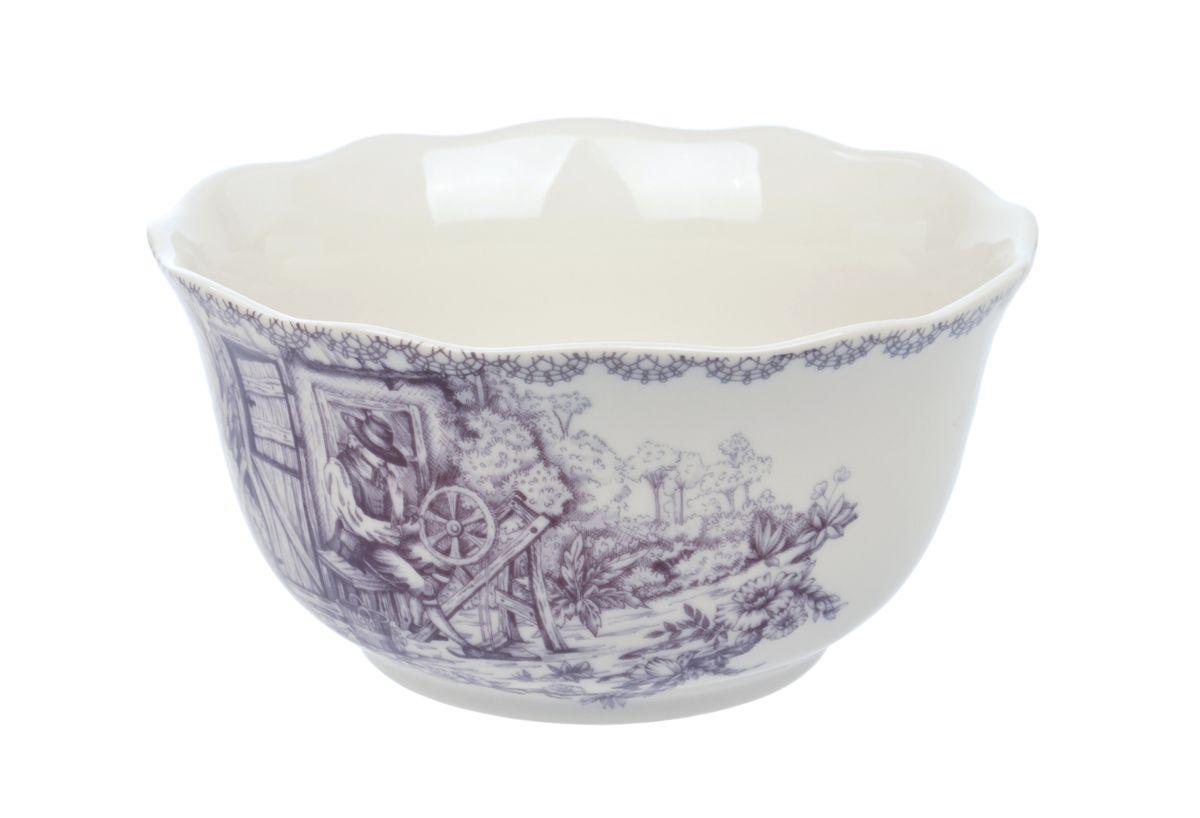 """Салатница Utana """"Инглиш принтс Флинт"""" изготовлена из высококачественной керамики и украшена изысканным  рисунком.  Такое изделие прекрасно подойдет для холодных и горячих блюд: каш, хлопьев, супов, салатов и многого другого.  Оригинальная салатница станет украшением любого стола и прекрасно подойдет для использования, как дома, так и на даче или пикниках.  Диаметр салатницы (по верхнему краю): 14,5 см.  Высота стенки: 7,5 см. Подходит для микроволновой печи.  Можно мыть в посудомоечной машине."""