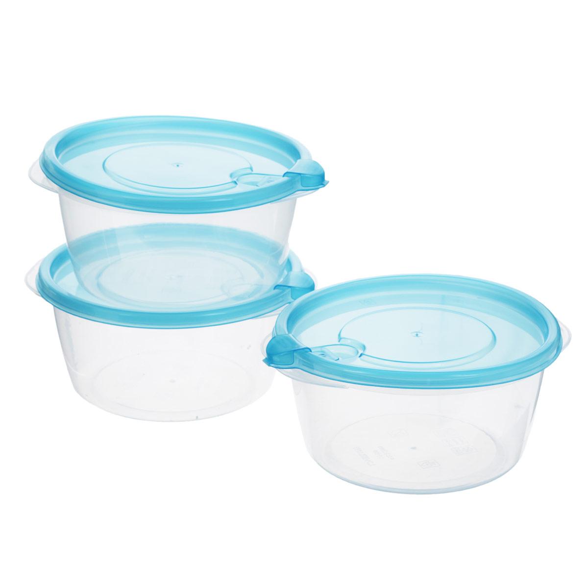 Комплект контейнеров для хранения продуктов Бытпласт Фрэш, 0,75 л, 3 шт. С11522С11522Контейнеры Бытпласт Фрэш предназначены для хранения пищевых продуктов и не только. Они выполнен из высококачественного полипропилена и не содержат Бисфенол А. Крышка легко и плотно закрывается. Контейнер устойчив к воздействию масел и жиров, легко моется. Подходит для использования в микроволновых печах, выдерживает хранение в морозильной камере при температуре -24 градуса.Пищевые контейнеры необыкновенно удобны: в них можно брать еду на работу, за город, ребенку в школу. Именно поэтому они обретают все большую популярность.