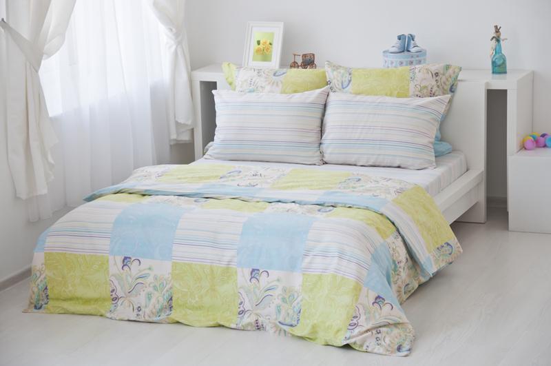Комплект белья 2-спальный, сатин, Тет-а-тет Кудрина комплект постельного белья quelle tete a tete 1010965 2сп 70х70 2