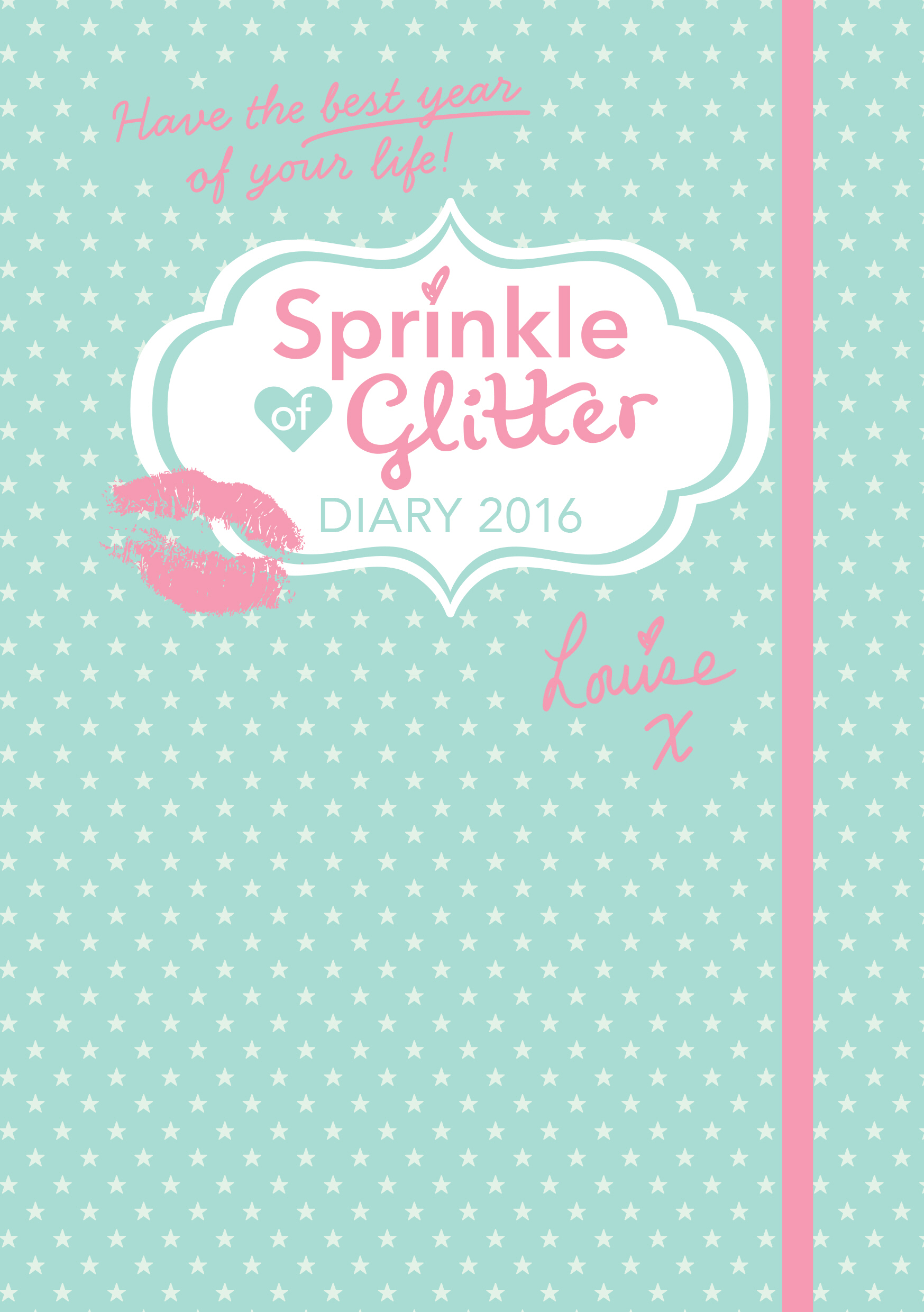 Sprinkle of Glitter: Diary 2016 a5 365 planner notebook daily happy weekly monthly planner agenda organizer day plan notebooks journal diary stationery 2018