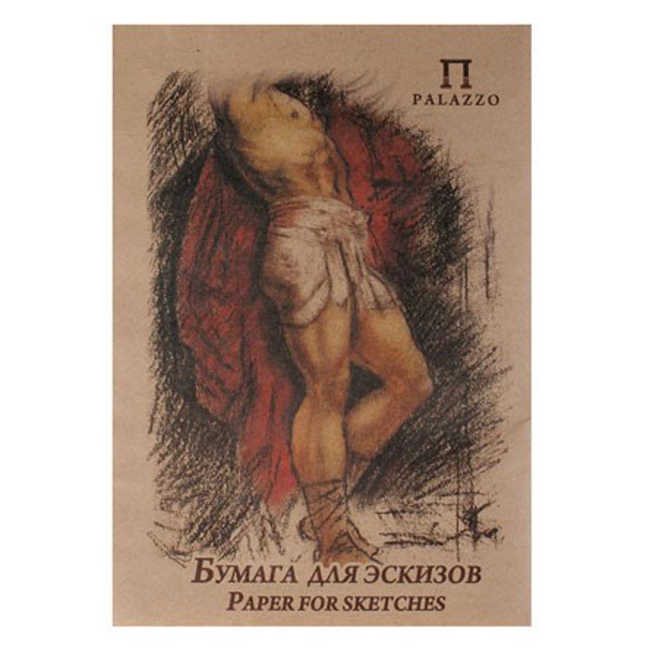 Бумага для эскизов  Палаццо , 20 листов, формат А2 -  Бумага и картон