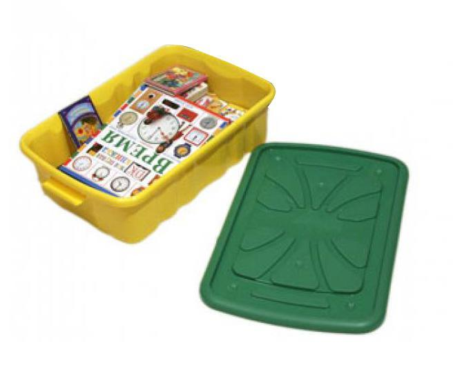 Ящик для игрушек 600*400*300 на колесах. С301