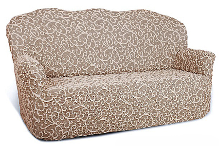 Чехол на 2-х местный диван Еврочехол Жаккард 100-150 см
