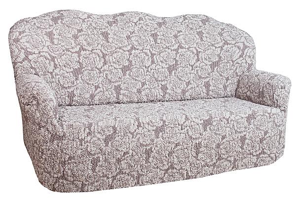 Чехол на 2-х местный диван Еврочехол Виста, цвет: молочный, светло-коричневый, 120-160 см6/44-2Чехол на 2-х местный диван Еврочехол Виста выполнен из 50% хлопка, 50% полиэстера. Он идеально подойдет для тех, кто хочет защитить свою мебель от постоянных воздействий. Этот чехол, благодаря прочности ткани, станет идеальным решением для владельцев домашних животных. Кроме того, состав ткани гипоаллергенен, а потому безопасен для малышей или людей пожилого возраста. Такой чехол отлично впишется в любой интерьер. Еврочехол послужит не только практичной защитой для вашей мебели, но и приятно удивит вас мягкостью ткани и итальянским качеством производства.Растяжимость чехла по спинке: 120-160 см.