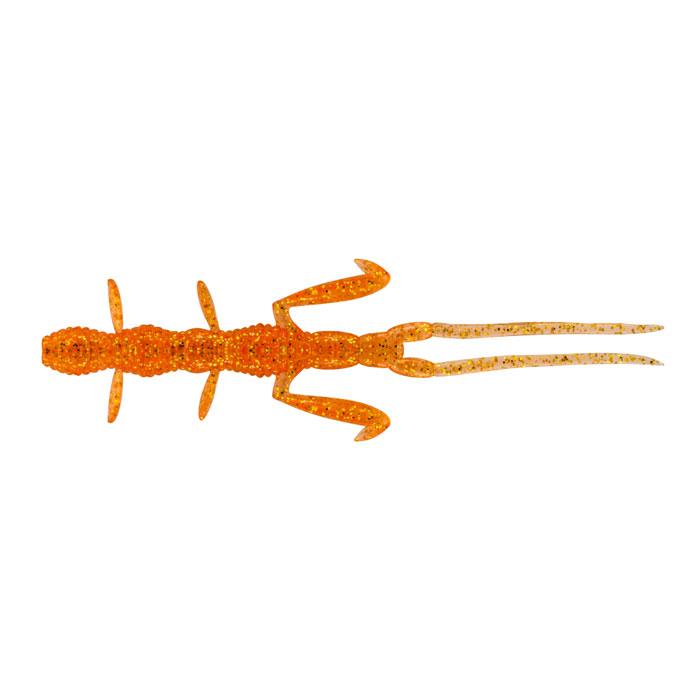 Приманка для рыбы Tsuribito-Jackson Рачок, цвет: оранжевый, 5,8 см, 8 шт