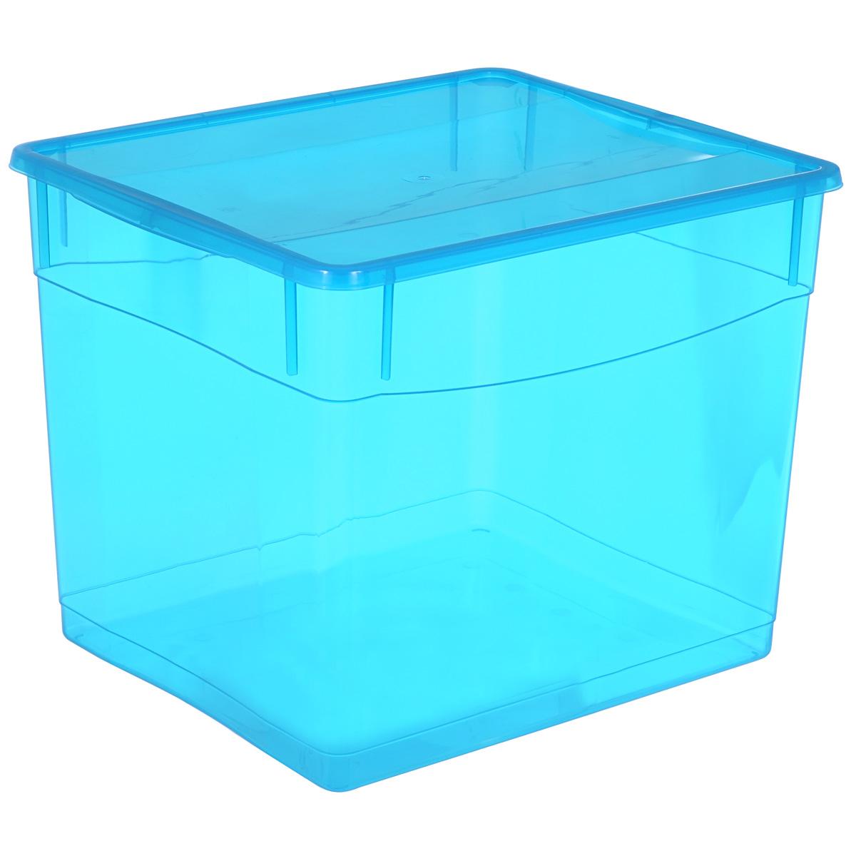 Ящик универсальный Бытпласт Колор Стайл с крышкой, 34 лС12782Универсальный ящик Бытпласт Колор Стайл выполнен из полипропилена и предназначен для хранения различных предметов. Ящик оснащен удобной крышкой.Очень функциональный и вместительный, такой ящик будет очень полезен для хранения вещей или продуктов, а также защитит их от пыли и грязи.