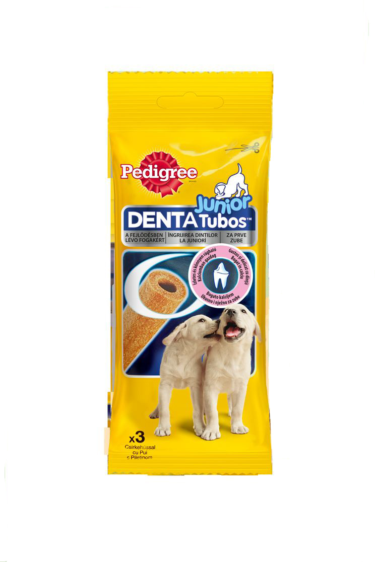 Лакомство для щенков Pedigree Denta Tubos Junior, 3 шт лакомство для щенков pedigree denta tubos junior 3 шт