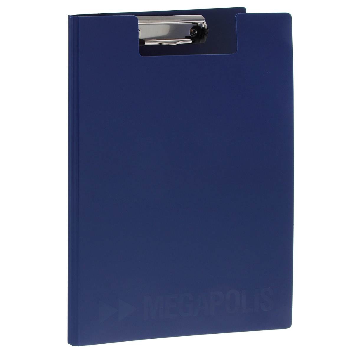 Папка-планшет Erich Krause Megapolis, формат А4, цвет: темно-синий3874Папка-планшет Erich Krause Megapolis будет незаменима для работы с документацией в дороге или на складе, а так же может быть использована для подготовки и хранения текстов выступлений или докладов.Изготовлена из жесткого пластика, и ПВХ. Благодаря своей жесткости позволяет делать записи на весу. Металлический зажим надежно фиксирует листы, предотвращая сползание бумаги. Есть внутренний карман для заметок.