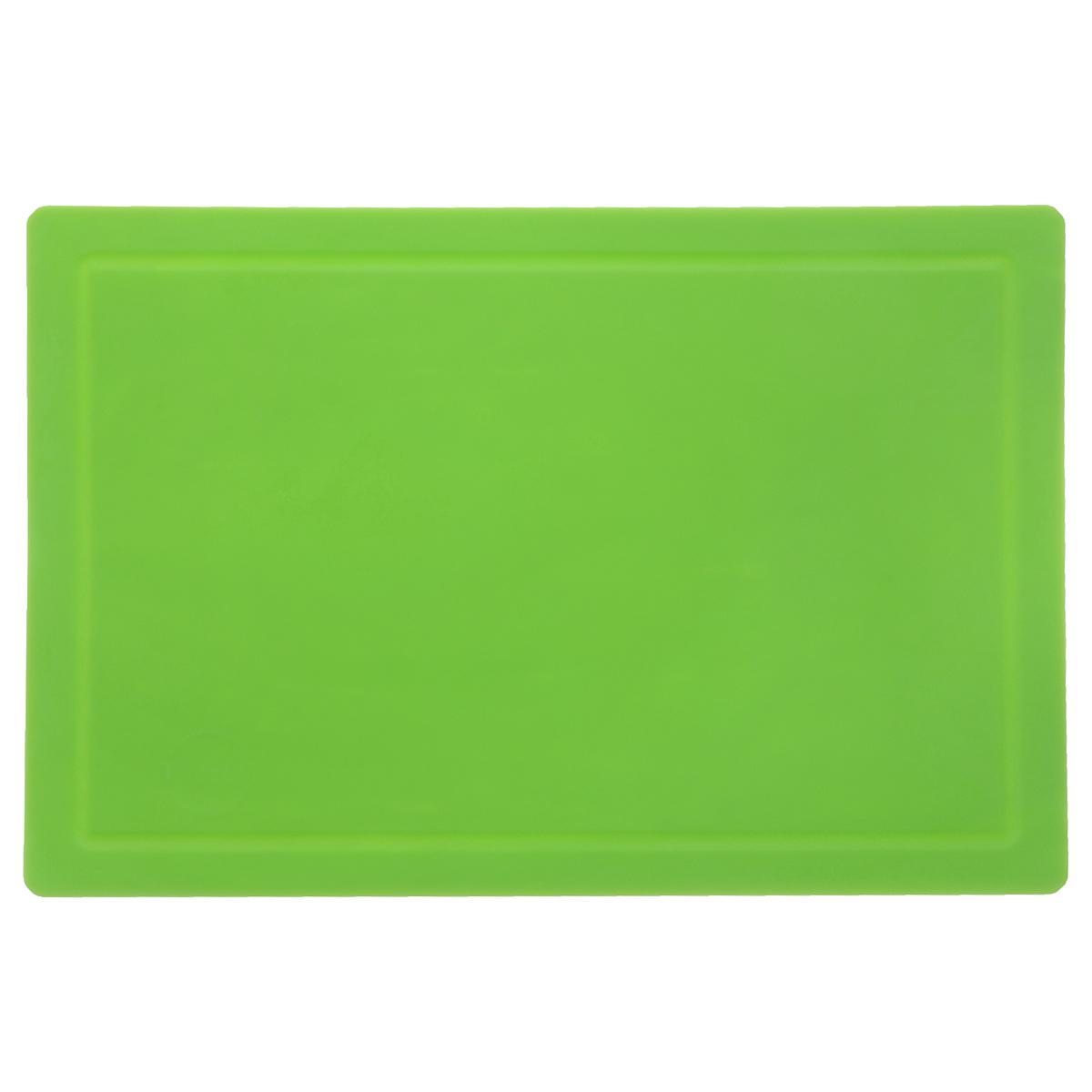 Доска разделочная TimA, цвет: зеленый, 36 см х 25 смДРГ-3625Гибкая разделочная доска TimA, изготовленная из высококачественного полиуретана, займет достойное место среди аксессуаров на вашей кухне. Благодаря гибкости, с доски удобно высыпать нарезанные продукты. Она не тупит металлические и керамические ножи. Не впитывает влагу и легко моется. Обладает исключительной прочностью и износостойкостью.Доска TimA прекрасно подойдет для нарезки любых продуктов.