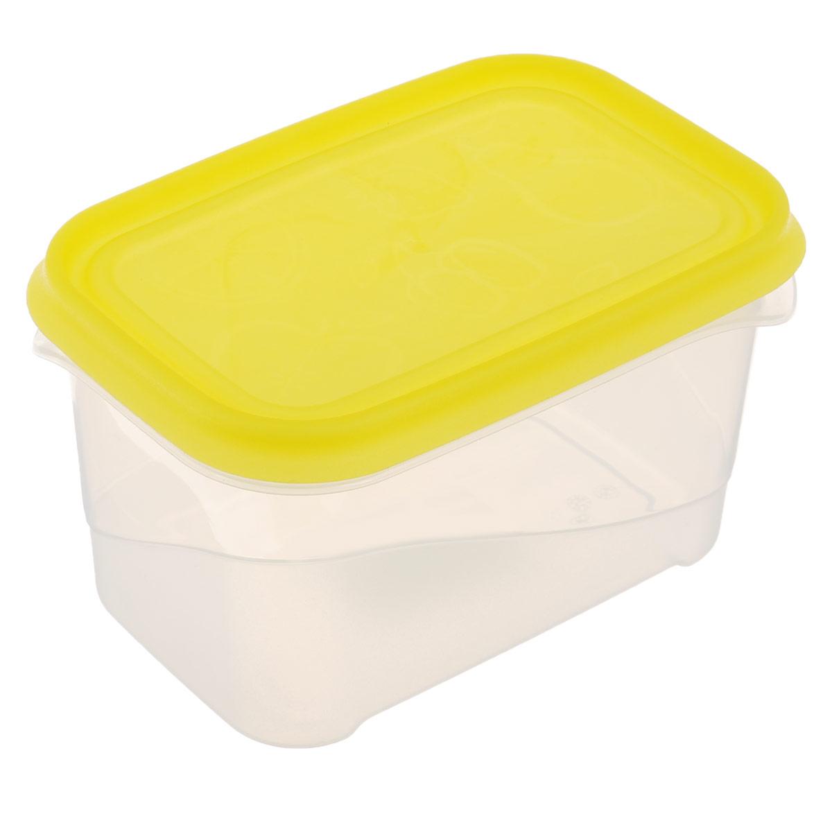 Контейнер Phibo Freeze, 0,7 лС11735Контейнер Phibo Freeze изготовлен из высококачественного полипропилена и не содержит Бисфенол А. Крышка легко и плотно закрывается, украшена узором в виде фруктов. Контейнер устойчив к воздействию масел и жиров, легко моется.Подходит для использования в микроволновых печах при температуре до +100°С, выдерживает хранение в морозильной камере при температуре -24°С, его можно мыть в посудомоечной машине при температуре до +75°С.Объем контейнера: 0,7 л.
