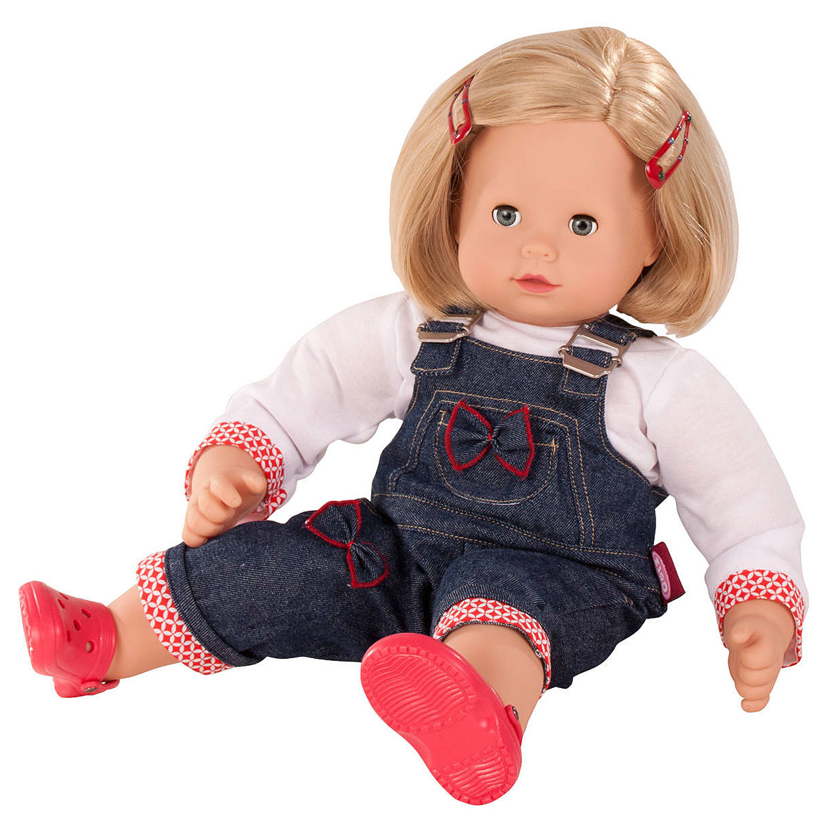 Gotz Кукла Макси-маффин блондинка в джинсовом комбинезон