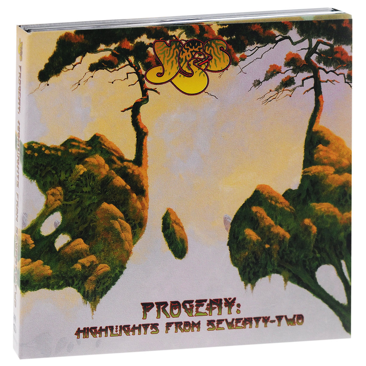 Yes Yes. Progeny. Highlights From Seventy-Two (2 CD) виниловая пластинка yes progeny highlights from seventy two