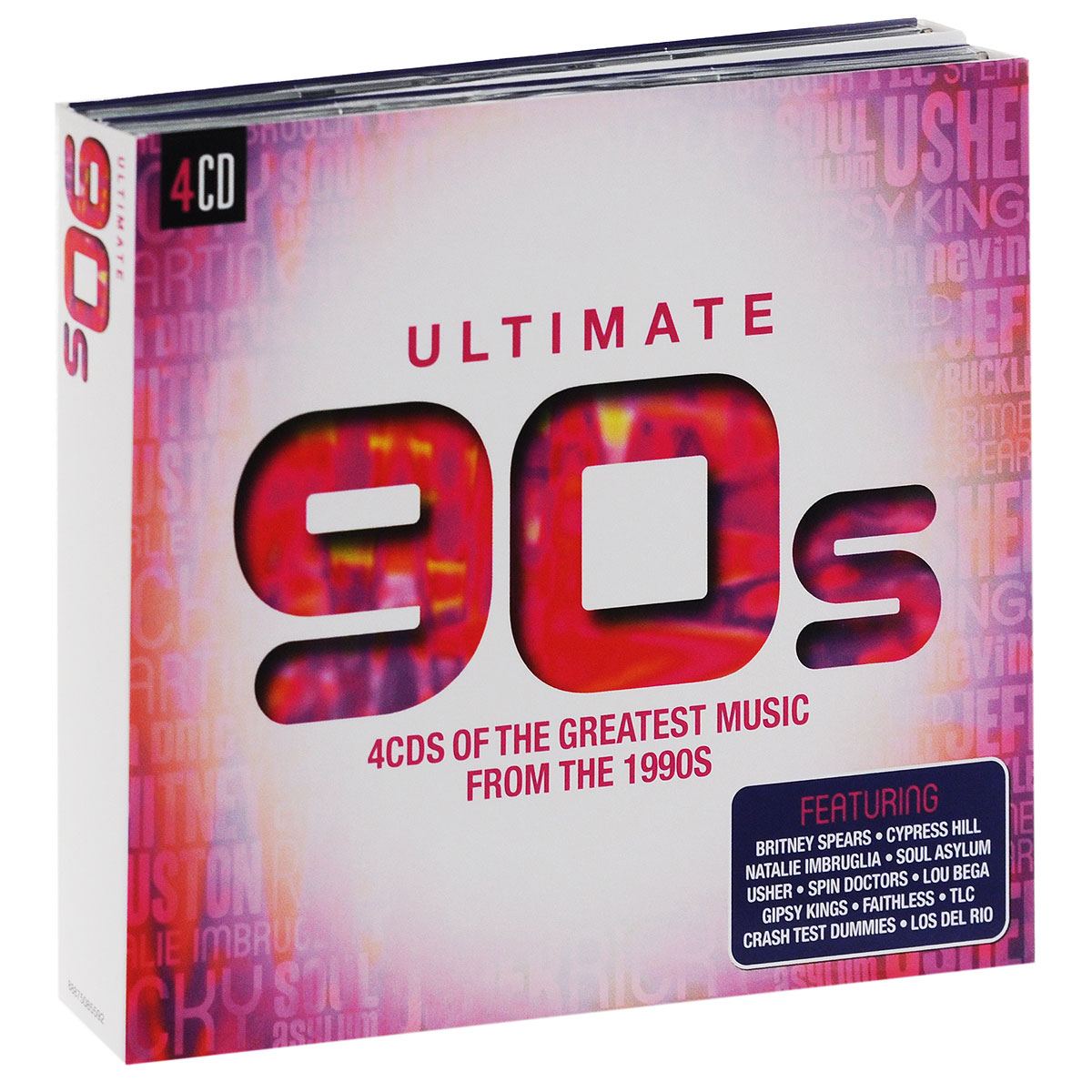 Faithless,Apollo 440,Scatman John,Rednex,B'Witched,Бетти Бу,Джеймс Лэнс,Los Del Rio,Лу Бега,Gipsy Kings Ultimate 90s (4 CD) gipsy kings düsseldorf