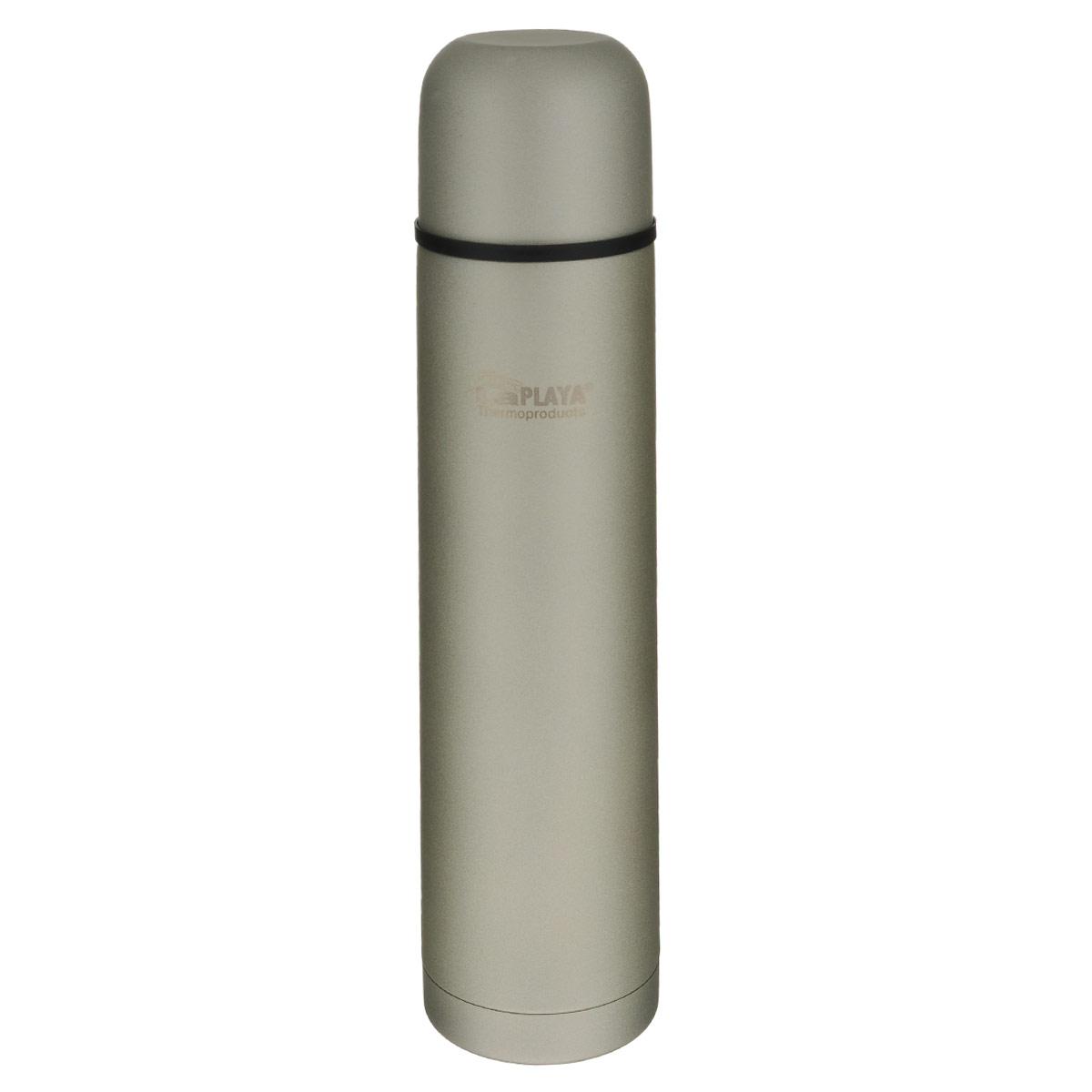 """Термос LaPlaya """"High Performance"""" изготовлен из нержавеющей стали 18/8 и пластика. В этом термосе применена система высококачественной вакуумной изоляции. Термос помогает сохранить температуру в течение 12 часов для горячих напитков и 24 часов для холодных. Особенностью термоса является наличие герметичной разборной пробки-стопора клапанного типа для удобного наливания напитков. Диаметр горлышка: 4,5 см.  Высота: 32 см."""