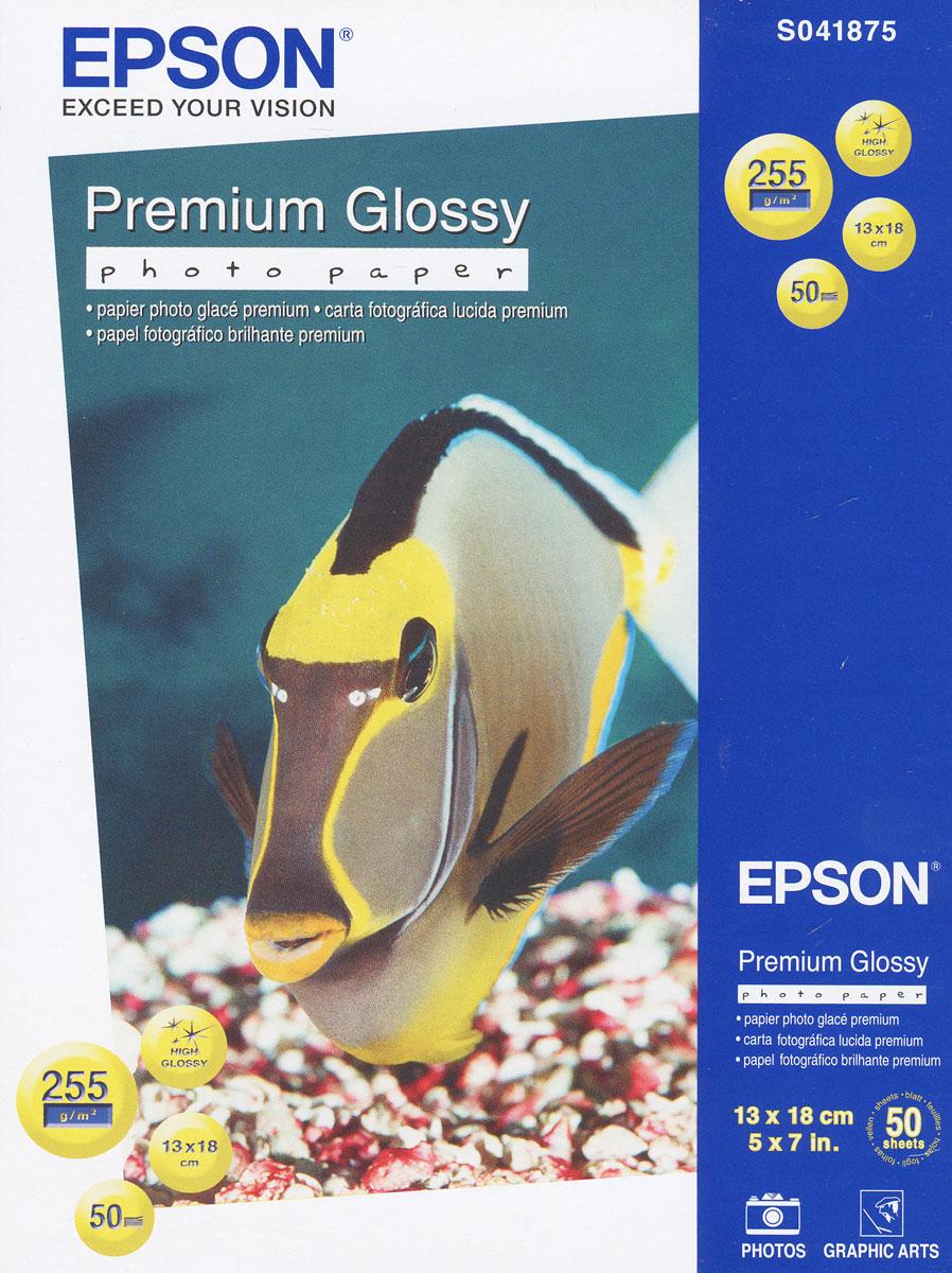 Epson Premium Glossy Photo 255/13x18/50л, глянцевая C13S041875C13S041875Высококачественный материал Epson Premium Glossy Photo на бумажной основе с глянцевым полимерным покрытием. Предназначен для печати изображений профессионального качества - фотографий, интерьерной графики.