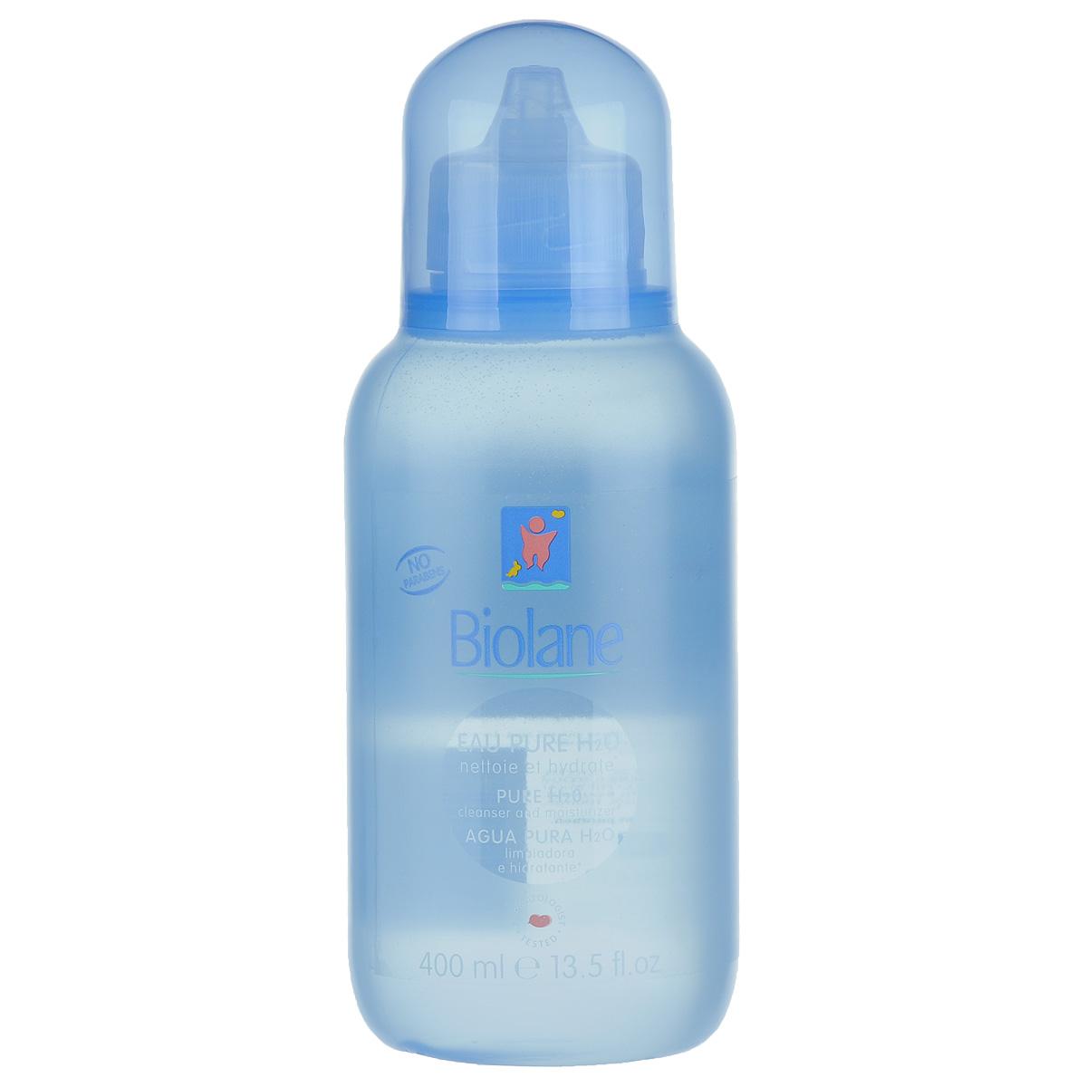 Biolane Детская очищающая жидкость, 400 млBH2OДетская очищающая жидкость Biolane с pH-сбалансированной формулой эффективно очищает лицо, тело и области под подгузником малыша. Идеальна для применения на всех чувствительных областях кожи младенца. Не требует смывания, что позволяет избежать контакта с водой и уберечь кожу крохи от высушивающего действия обычной воды. Поддерживает естественный баланс кожи ребенка.Уникальный комплекс биологически активных веществ на основе масла зародышей пшеницы Hydra-Bleine способствует увлажнению кожи и питает ее. Кожа ребенка остается свежей, мягкой, с легким приятным ароматом.Товар сертифицирован.