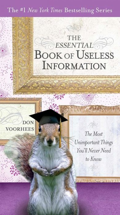 The Essential Book of Useless Information the essential cocktail book
