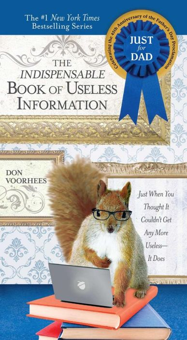 Indispensable Book of Useless Information (Father's Day edition) санки galaxy мишутка 1 универсал оранжевые