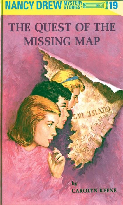Nancy Drew 19: the Quest of the Missing Map map of fates