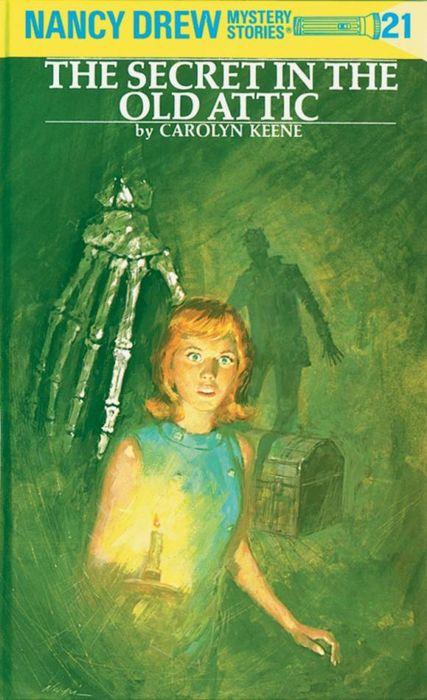 Nancy Drew 21: the Secret in the Old Attic the buddha in the attic