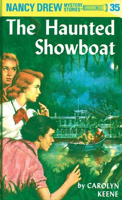 Nancy Drew 35: the Haunted Showboat nancy кукла нэнси в малиновой юбке плетение косичек nancy