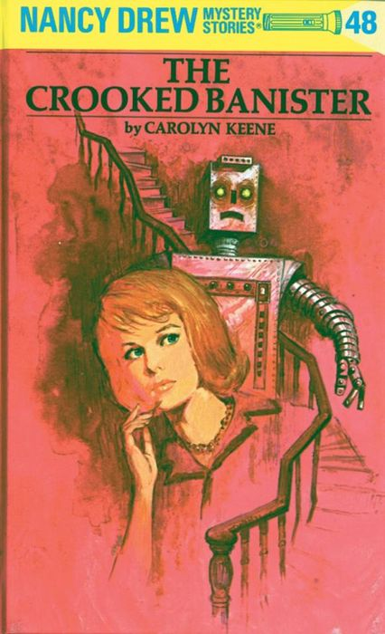 Nancy Drew 48: the Crooked Banister kids crooked house kids crooked house